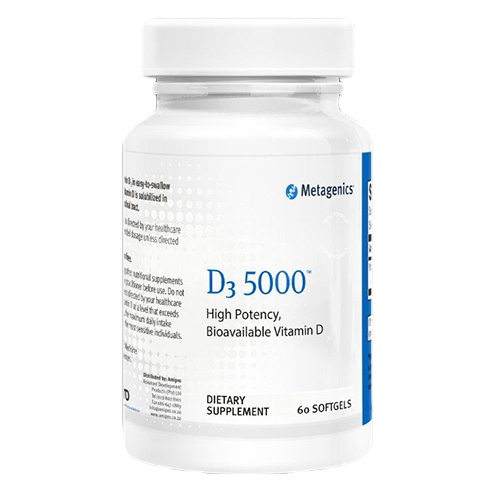 D3 5000 - Supports Bone, Cardiovascular and Immune Health