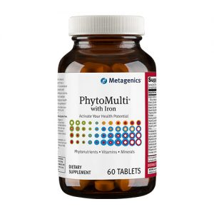 PhytoMulti with Iron - Phytonutrients, Multivitamins and Iron in-1