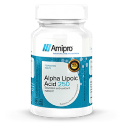 Alpha Lipoic Acid 250 - Helps Reduce Blood Sugar And Is A Powerful Antioxidant