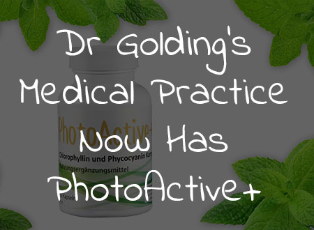 Dr Golding's Medical Practice Now Has PhotoActive+