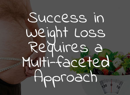 Success in Weight Loss Requires a Multi-faceted Approach