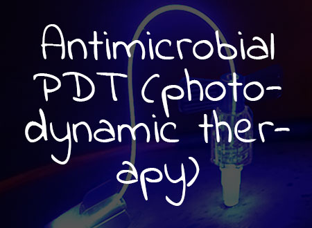 Antimicrobial PDT (photodynamic therapy) Now Available