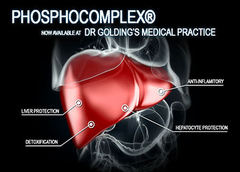 Phosphocomplex® Liver Protection – Now Available At Dr Golding's Medical Practice