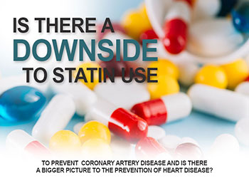 Is There A Downside To Statin Use To Prevent Coronary Artery Disease And Is There A Bigger Picture To The Prevention Of Heart Disease?