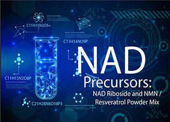 NAD Precursors: NAD Riboside and NMN/Resveratrol Powder Mix