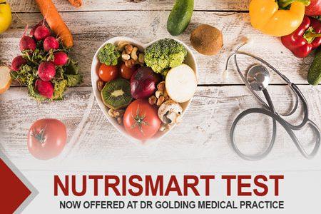 Nutrismart Test now Offered at Dr Golding Medical Practice