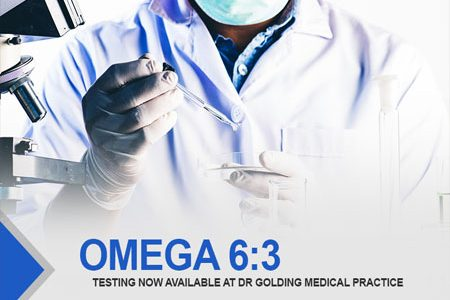 OMEGA 6:3 Testing Now Available at Dr Golding Medical Practice